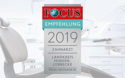 """Auszeichnung """"FOCUS Gesundheit"""""""
